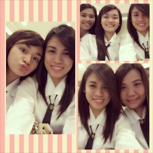 With my butts before practice. ♥ Pwets Magnolia Laughtripalltheway