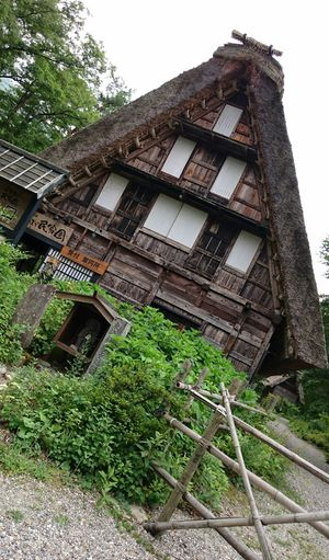 Shirakawago Gifu,Japan World Heritage Thatched House Thatched Roof Country Summer Happy Holidays! My Smartphone Life Mobile Photography