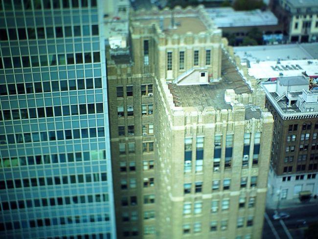 Oakland Tribune Tower Oakland Tiltshift