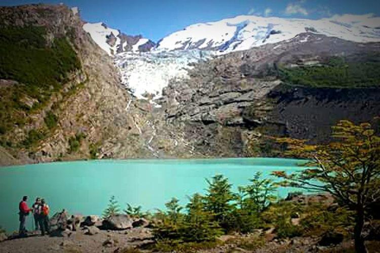 Glaciar Huemul y su lago. Glacier Lake View Lago Del Desierto Lake Turquoise Paisaje Natural Paisajes Paisajessureños Paisagem Nature_collection