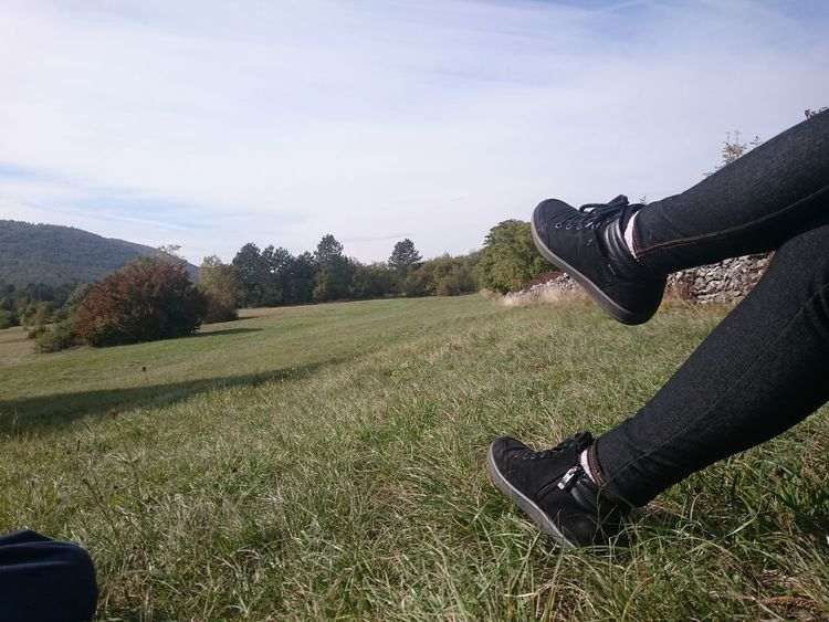 No Filter Nature Resting Legs