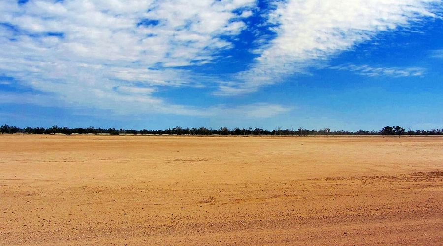 In The Bush Australian Outback Peaceful View Loneliness Clouds Countryside Sky Horizon Australian Landscape The Great Outdoors - 2016 EyeEm Awards