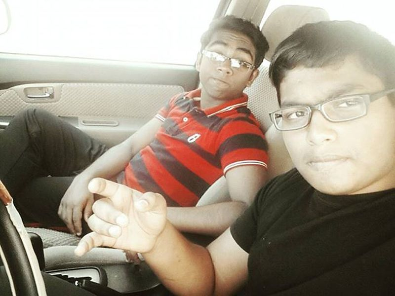 Today's Drive..!! Godamn it was d best..!! Chunk Bestie  Fun D_best Fortuner_2016 Drive Loud_music Shababi_lyf Peace_out ✌✌😏