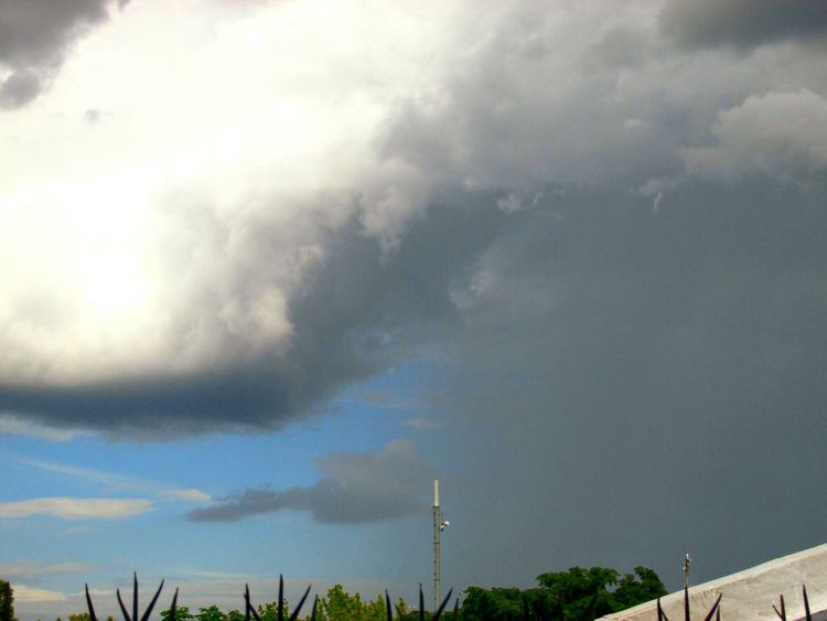 Chaparron aislado 18/2/15 Rain Lluvia Skylove Clouds And Sky Buenosaires Fotografia Cielo Paisaje Storm Thunderstorm