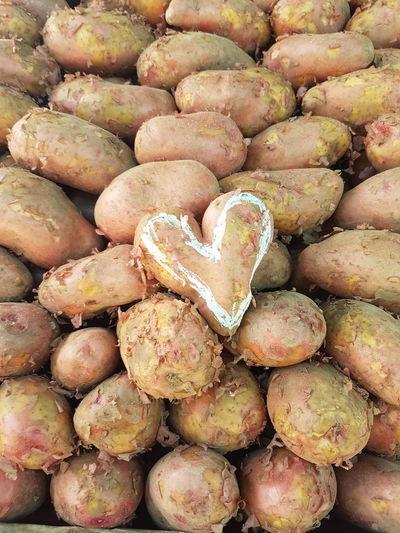 Food Potatoes Potatoes, Organic, Fresh Potatoes For Sale Brown EyeEm Selects Backgrounds Full Frame Beach Close-up