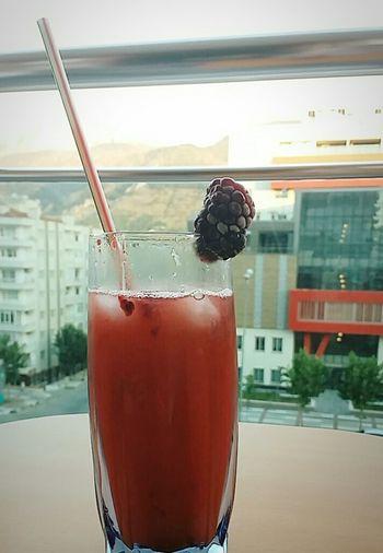 Drink Ice Blackberry Freshness Fresh Drink 💜