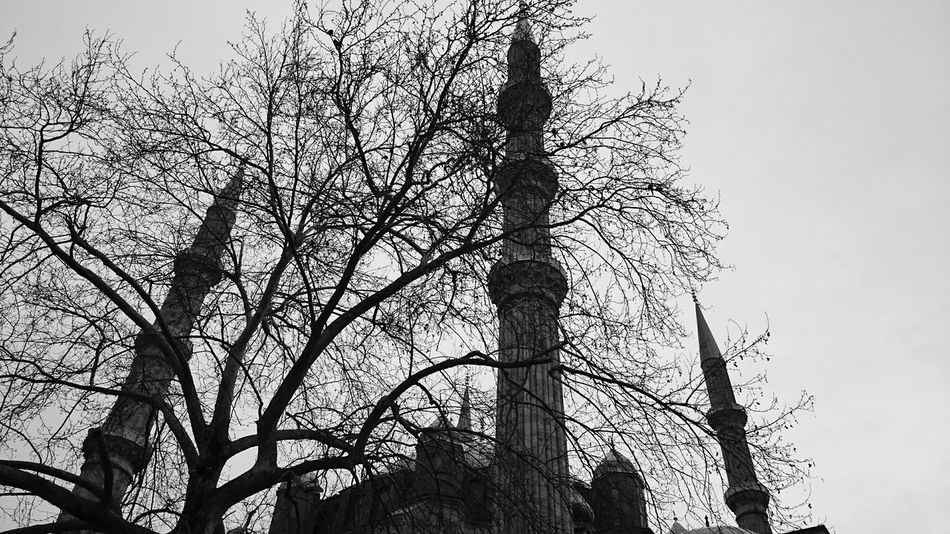 Edirne Selimiye Mosque Cityscapes Photooftheday Nature Traveling Monochrome Historic City Streetphoto_bw Light And Shadow