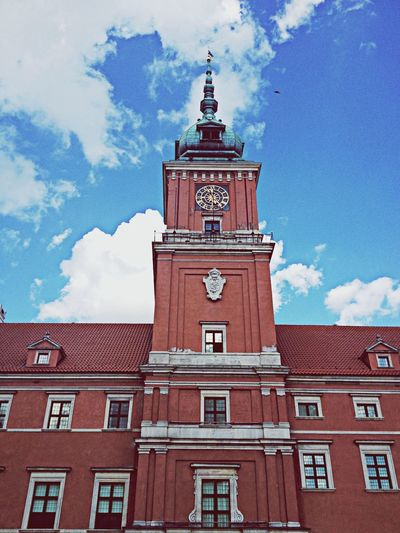 Castel Architecture History Warsaw