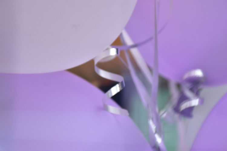 violet balloons Close-up Day Glitter No People Outdoors Purple Ribbon Violet Balloons