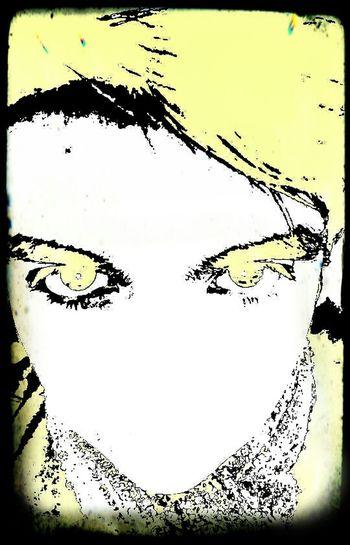 3l amarillo en los ojos Selfi Pixlr Filtros Mirada  Coronel, CHile. Abstractions In Colors Bosquejo