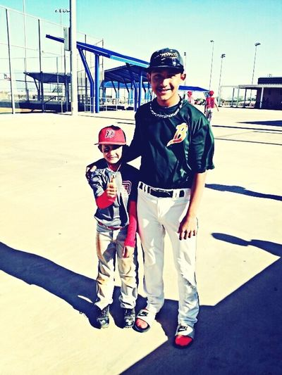 My Cousin Looks Up To Me In Baseball. :')