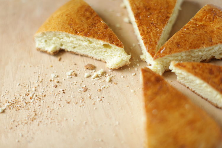 Baked Bread Cake Close-up Detail Food Food And Drink Gata Homebaked Indoors  Still Life Sweet Food Table