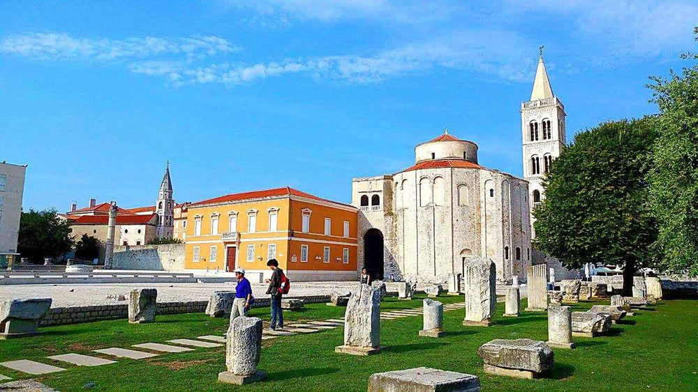 Croatia Sky Building Exterior Place Of Worship Religion Outdoors Architecture People Grass Graveyard Beauty Grave People Greece Memories