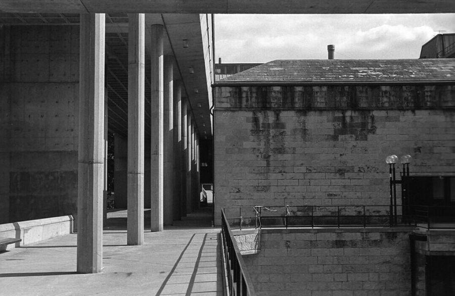 Humanities Building. Kodak Filmisnotdead Analog Blackandwhite Film Wisconsin Nikon Tmax 35mm Madison