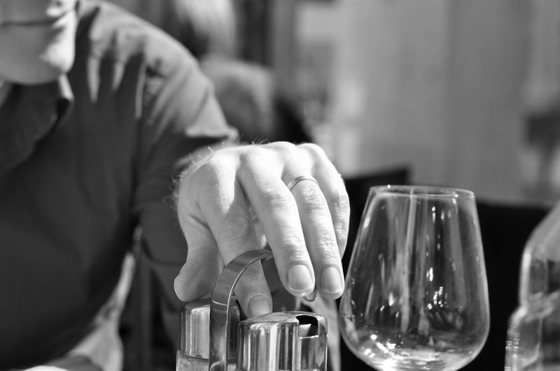 Adult Close-up Day Drink Drinking Glass Focus On Foreground Food And Drink Freshness Holding Human Body Part Human Hand Indoors  Lifestyles Men Midsection One Person People Real People