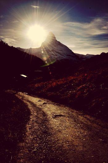 Matterhorn  Walking In The Mountains Zermatt