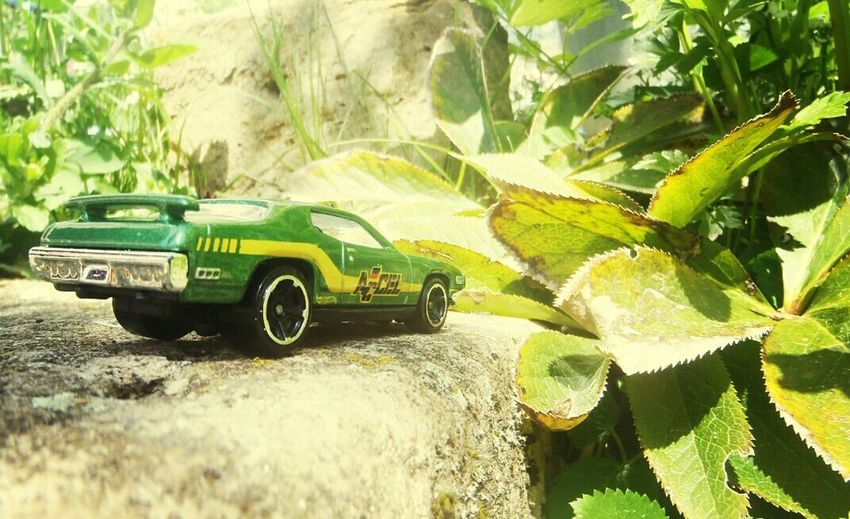 Plymouth ROAD RUNNER Green Microscape