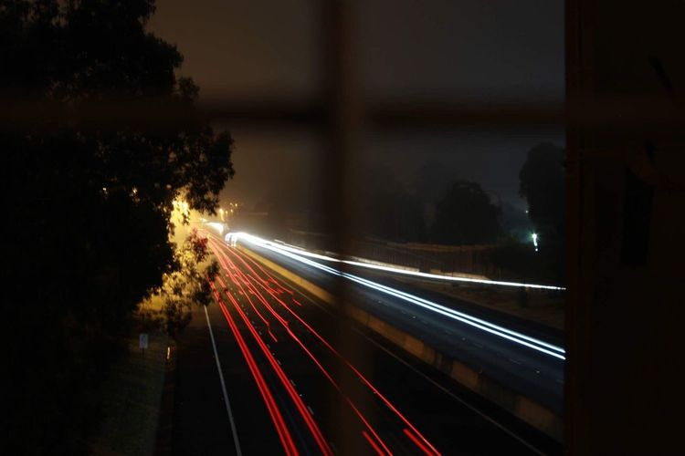 Speed Transportation Light Trail Long Exposure Motion Illuminated Night Blurred Motion Road Tree No People High Street Land Vehicle Outdoors Sky Untouched Canonphotography Cannon600d EyeEmNewHere EyeEm Selects