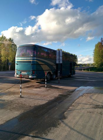 My retro bus to st.Petersburg😂 Retro Bus Travelling Russia