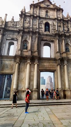 At the famous landmark in Macau The Ruins of St. Paul ⛪ &EscapeManila &Travel Septemberends &WhenInMacau