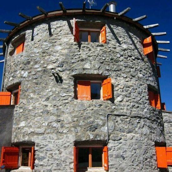 Close up of restaurant Tibet Südtirol Ortler Italy