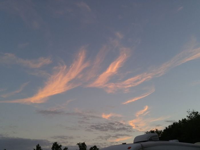 Sky No People Tranquility Sunset Cloud - Sky Outdoors Nature Scenics Star - Space Day