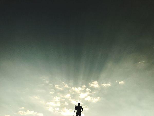 Silhouette Cloud - Sky Men