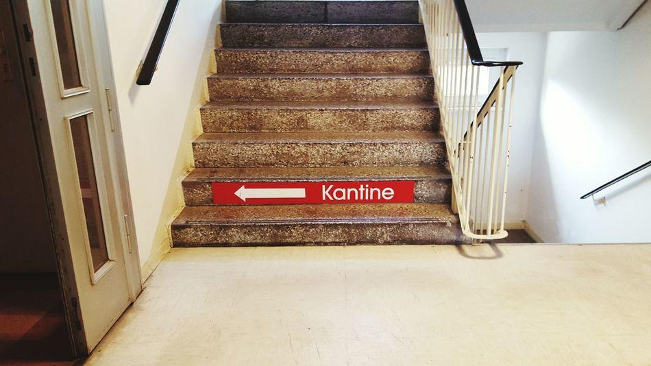 Kantine Treppenhaus Stairs