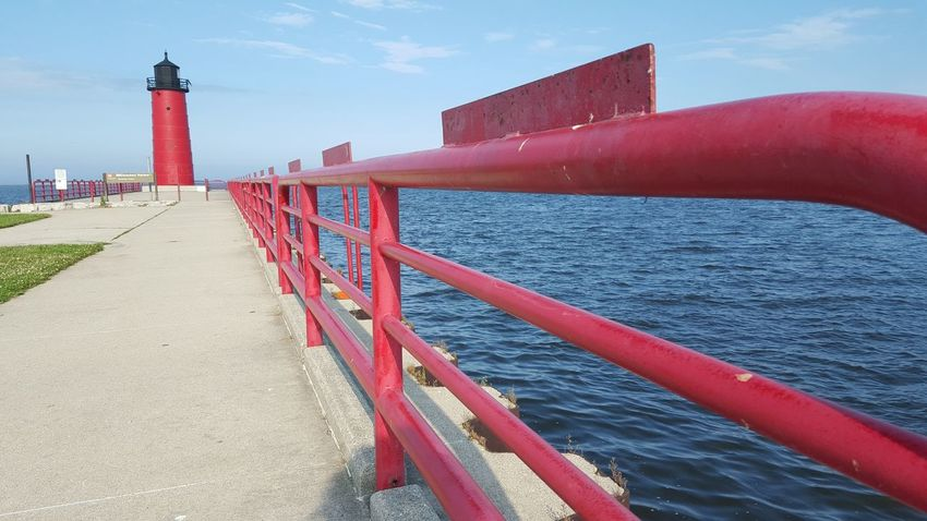 Leading Lines Lake Michigan Downtown Milwaukee Summer2015 City Life Urban Exploration Lakeshore State Park Here Belongs To Me