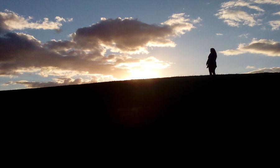 Lightx Silhouette No Fliter  Sunset IrenesPics