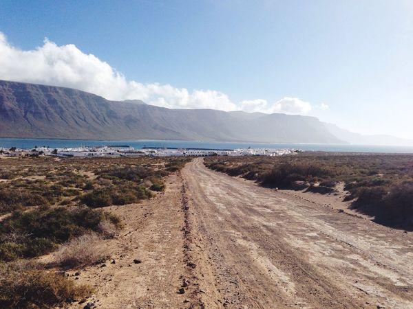 IPhoneography Lanzarote La Graciosa Winter Landscapes