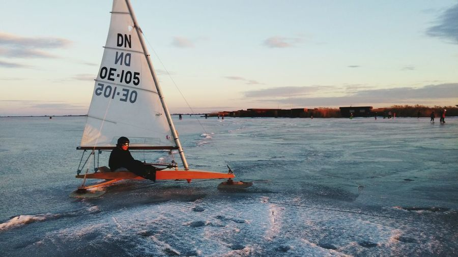 Ice Sailing Ice