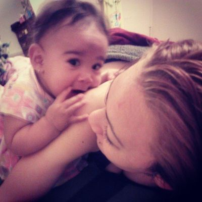 Shes all i got at the moment so idgaf how many pix i post, she is my angle JayLeah <3