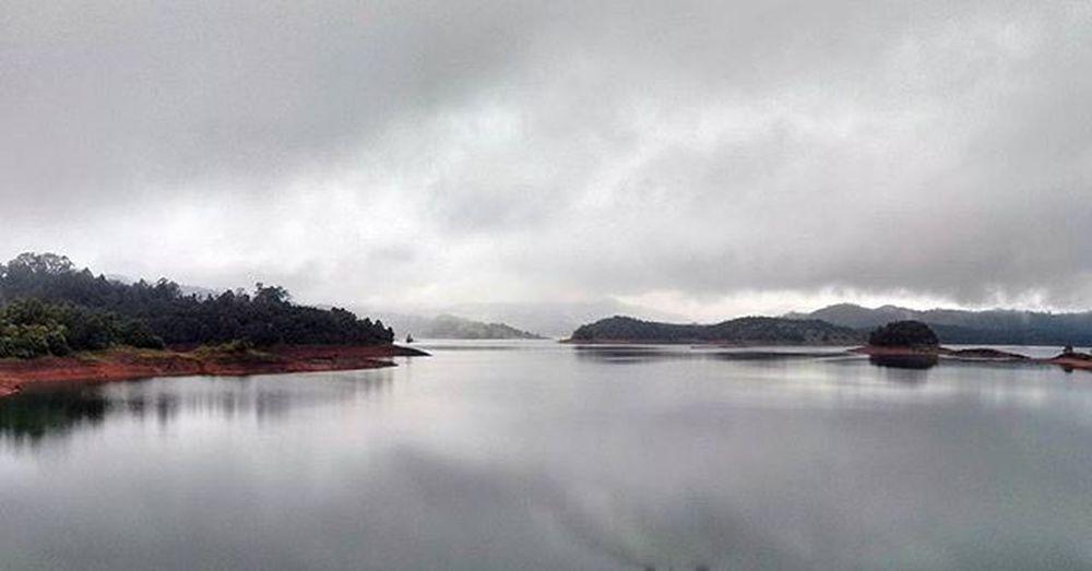 Monsoon beauty Landscape Monsoon Backwaters Chakradam hosanagara shivamogga southindia karnataka
