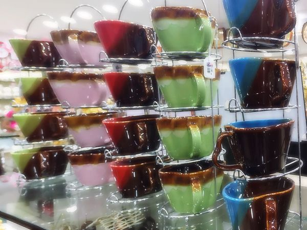 Food And Drink Transparent Glass - Material Indoors  Variation Freshness Sweet Food Unhealthy Eating Collection Indulgence Arrangement Food Multi Colored Close-up Temptation In A Row Choice Ready-to-eat Large Group Of Objects Green Color