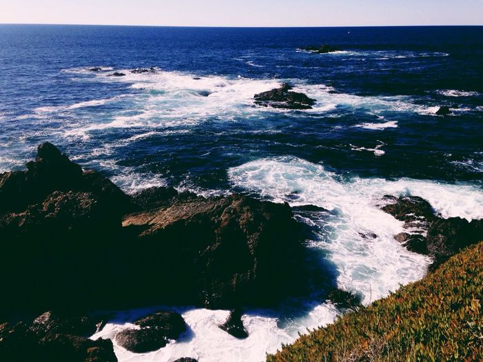 Half Moon Bay near Monterey, California Water Scenic Ocean Ocean View California IPhoneography