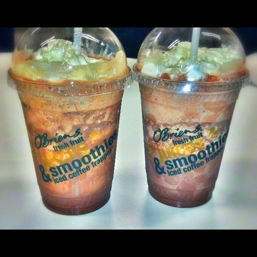 Chocolate and mocha blended. Nyummy Obriens Aretim