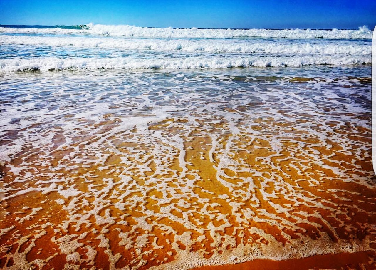 sea, beauty in nature, nature, water, beach, sand, no people, scenics, outdoors, sky, wave, tranquility, horizon over water, day, tranquil scene