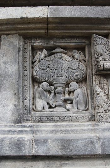 Bas-relief at Prambanan Temple, Yogyakarta, Indonesia ASIA Hinduism History Through The Lens  INDONESIA Java Ruins Yogyakarta Ancient Civilization Architecture Art And Craft Bas Relief Building Built Structure Carving Craft Hindu Temple History Old Prambanan Religion Sculpture Spirituality Statue The Past Wall - Building Feature