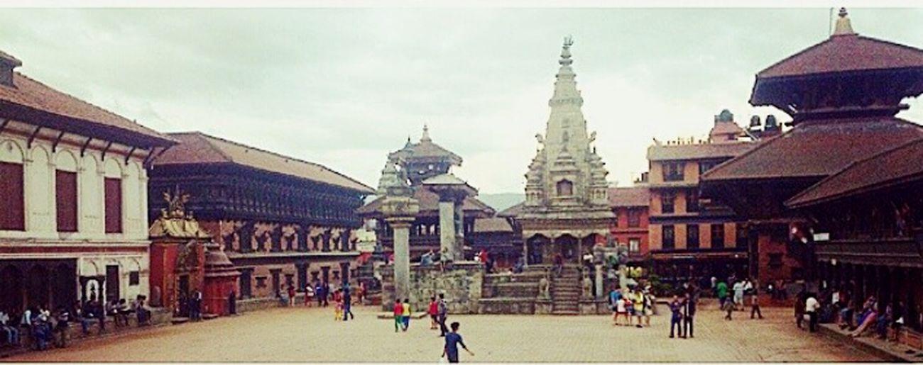 Bhaktapur before earthquake. Nepal PrayforNepal Wewillriseagain