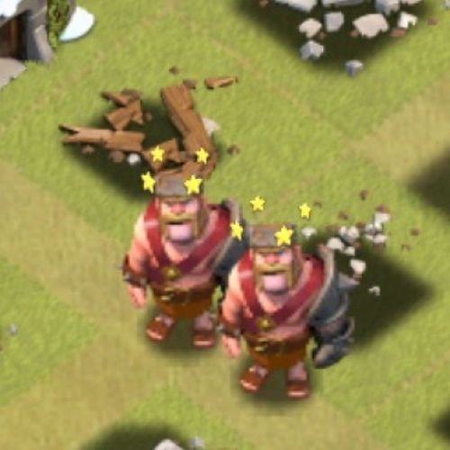 Brotherly love :D BarbarianKing Clashofclans ClanWars CoC