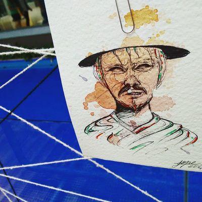 Muestras artísticas. Sambil @fundaciondhyana Illustration Art