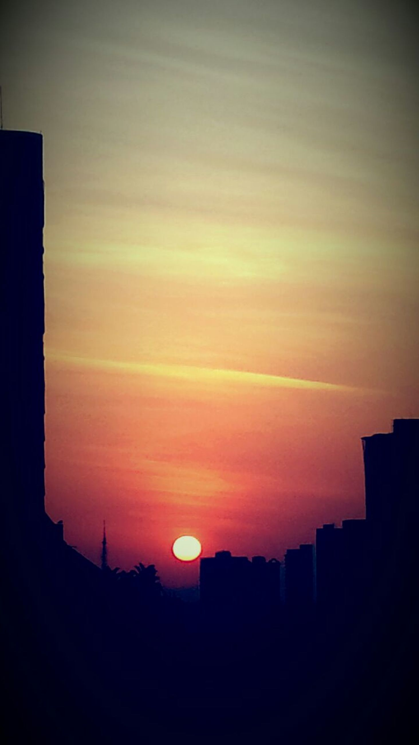 sunset, sky, built structure, no people, silhouette, beauty in nature, architecture, nature, cloud - sky, scenics, outdoors