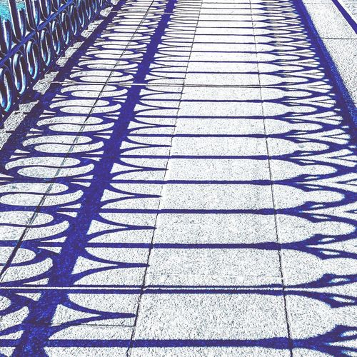 Pattern Full Frame No People Day Backgrounds Shadow Footpath Sunlight Outdoors Textured  Repetition