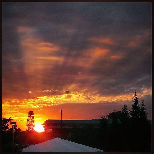 Закат Sunset