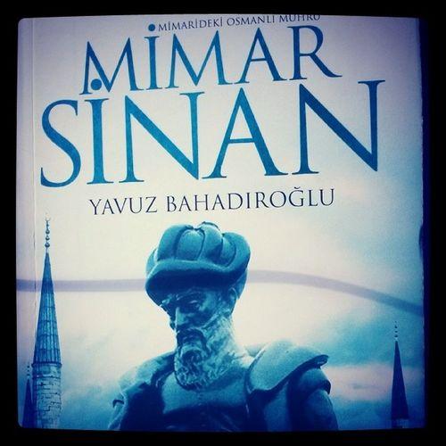 Yolculuk sırasında bir sanat tarihçisinin okuyacağı kitap :) Mimar Sinan