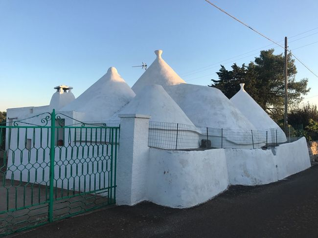 Trulli Trulli Houses Trullilovers No People Outdoors Sky Clear Sky Puglia Tourism Eye4photography  Clear Sky Building Exterior Architecture History Travel Destinations Ancient