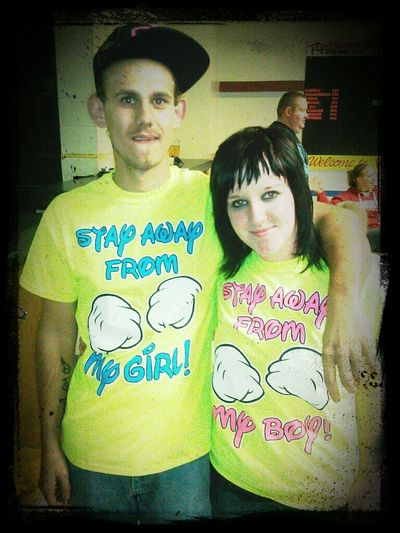 Bowling Time Matching Shirts! True Love<3 My Home Town!