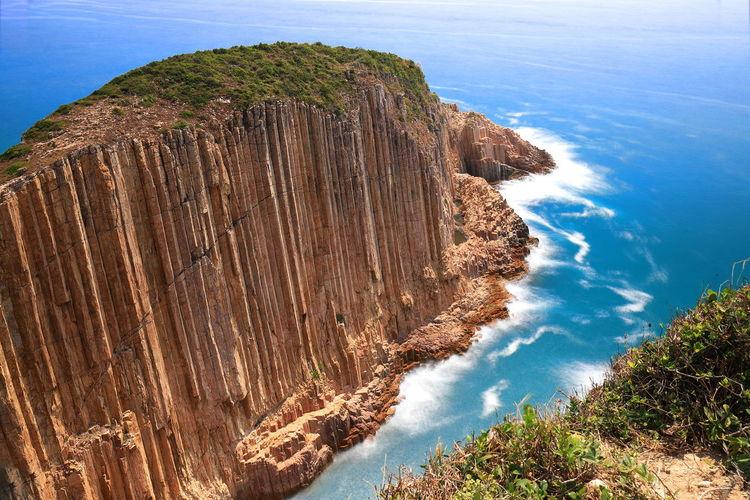 Blue Ocean Hello World Tadaa Community Cliff Discoverhongkong Geopark Hong Konk Po Pin Chau Sai Kung Go Higher My Best Photo 17.62° Stay Out The Great Outdoors - 2019 EyeEm Awards