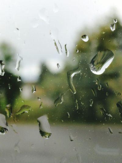 Raindrops On My